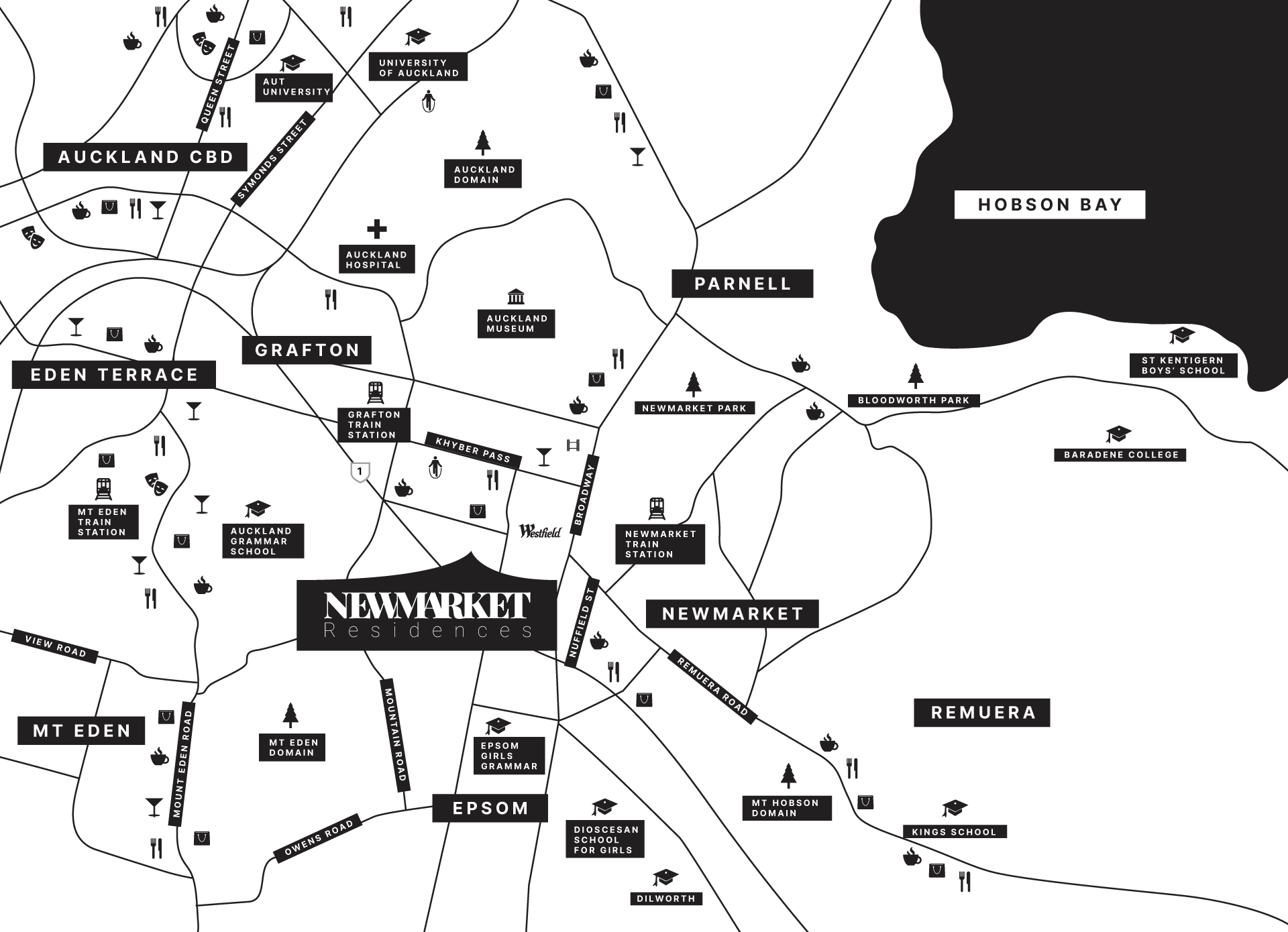 Map-Of-Newmarket-Residences
